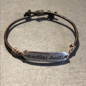 Jewelry - Leather Adjustable Bracelet